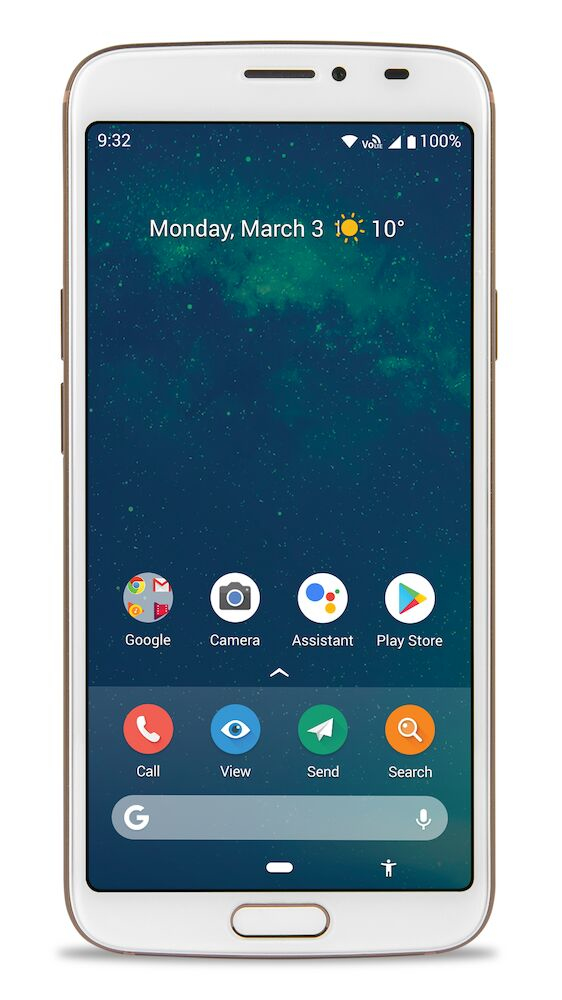 8080 WHITE 5.7IN 3GB ANDROID 9 LTE                IN