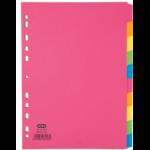Elba 400008300 divider Multicolour Cardboard 50 pc(s)