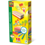 SES Creative Coloured chalk with wiper
