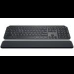 Logitech MX Keys keyboard RF Wireless + Bluetooth QWERTZ German Black