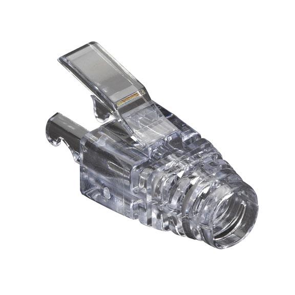 Black Box C5EEZ-BOOT-CL cable boot Transparent 25 pc(s)