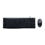 Logitech MK200 keyboard USB Black