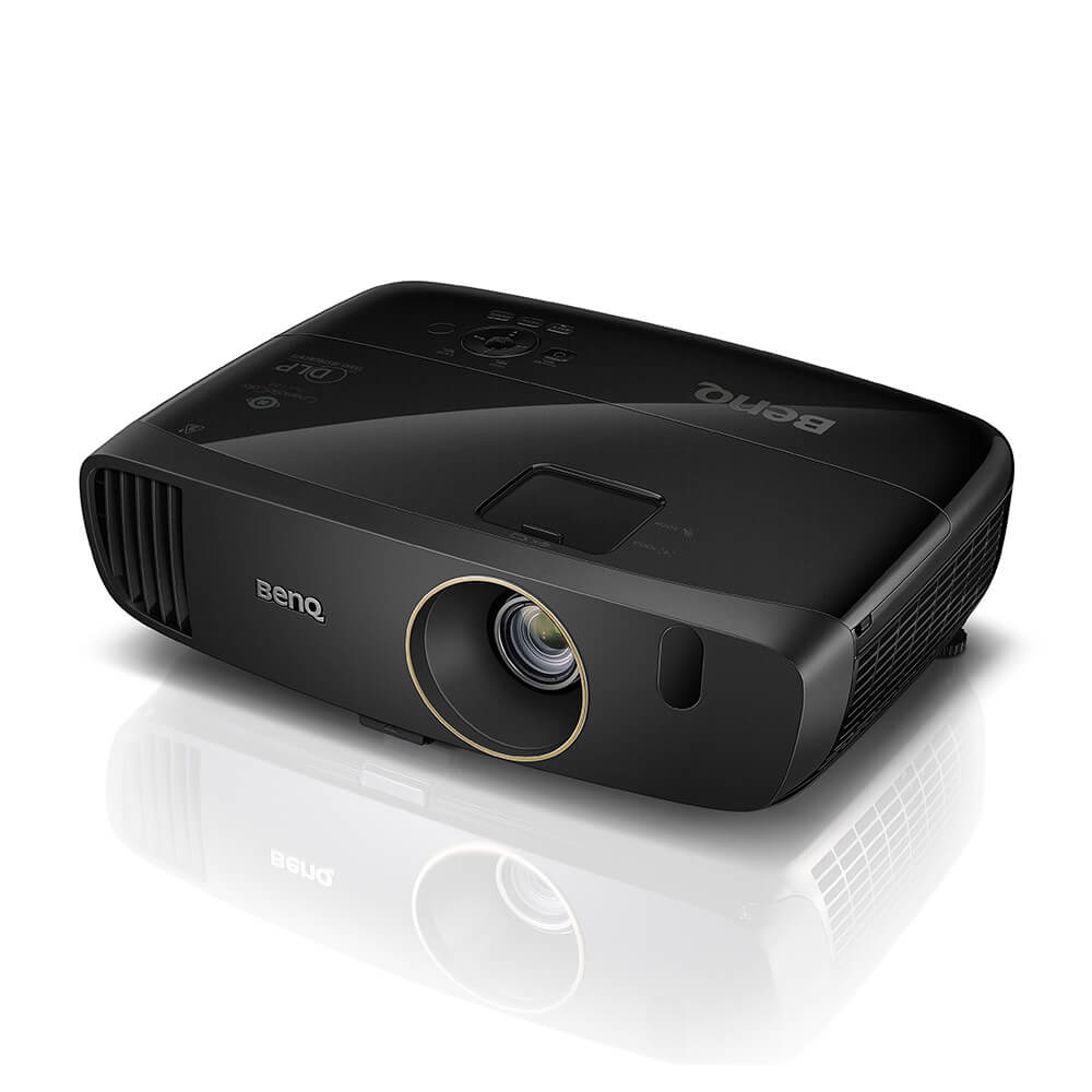 Benq W2000+ data projector 2200 ANSI lumens DLP 1080p (1920x1080) 3D Desktop projector Black