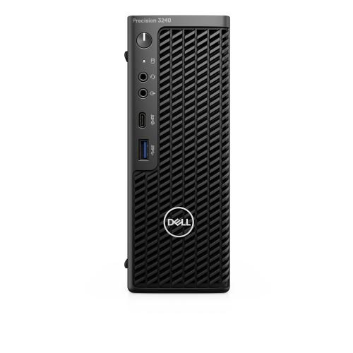 DELL Precision 3240 DDR4-SDRAM i5-10500 CFF 10th gen Intel® Core™ i5 8 GB 256 GB SSD Windows 10 Pro Workstation Black