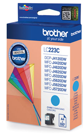 Brother LC-223CBP cartucho de tinta Original Cian 1 pieza(s)