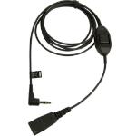 Jabra 8735-019 audio kabel 0,5 m QD 3.5mm Zwart