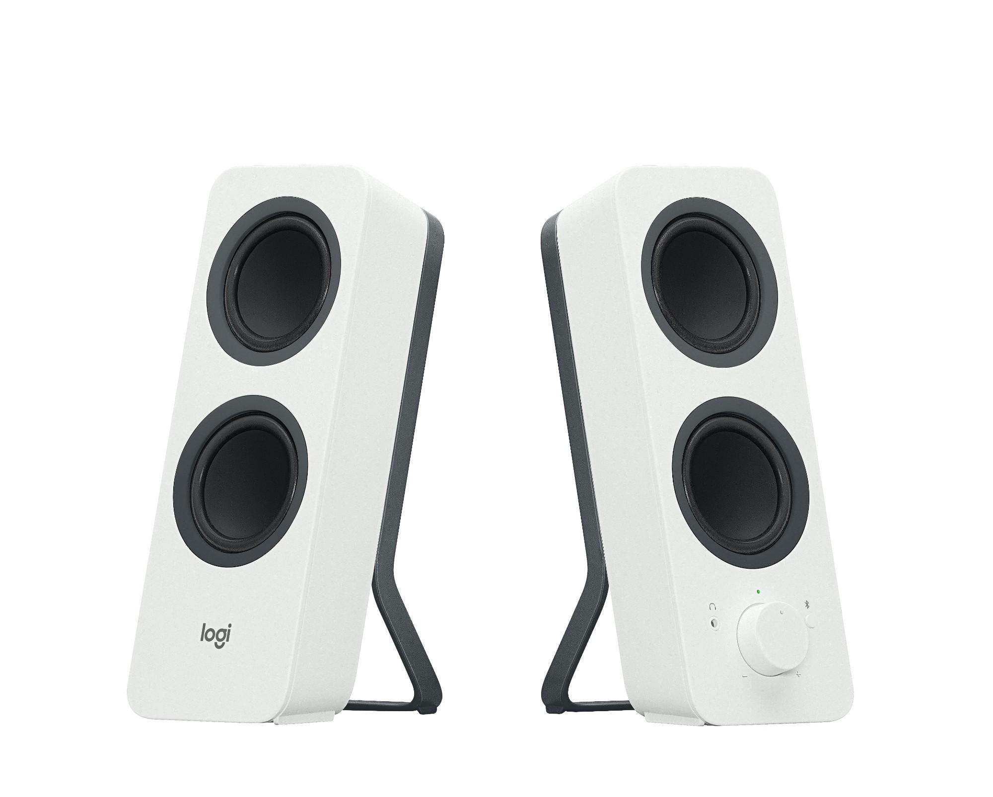 Logitech Z207 luidspreker 10 W Wit Bedraad en draadloos 3.5mm/Bluetooth