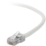"Belkin Cat5e, 14ft, 1 x RJ-45, 1 x RJ-45, White networking cable 165.4"" (4.2 m)"