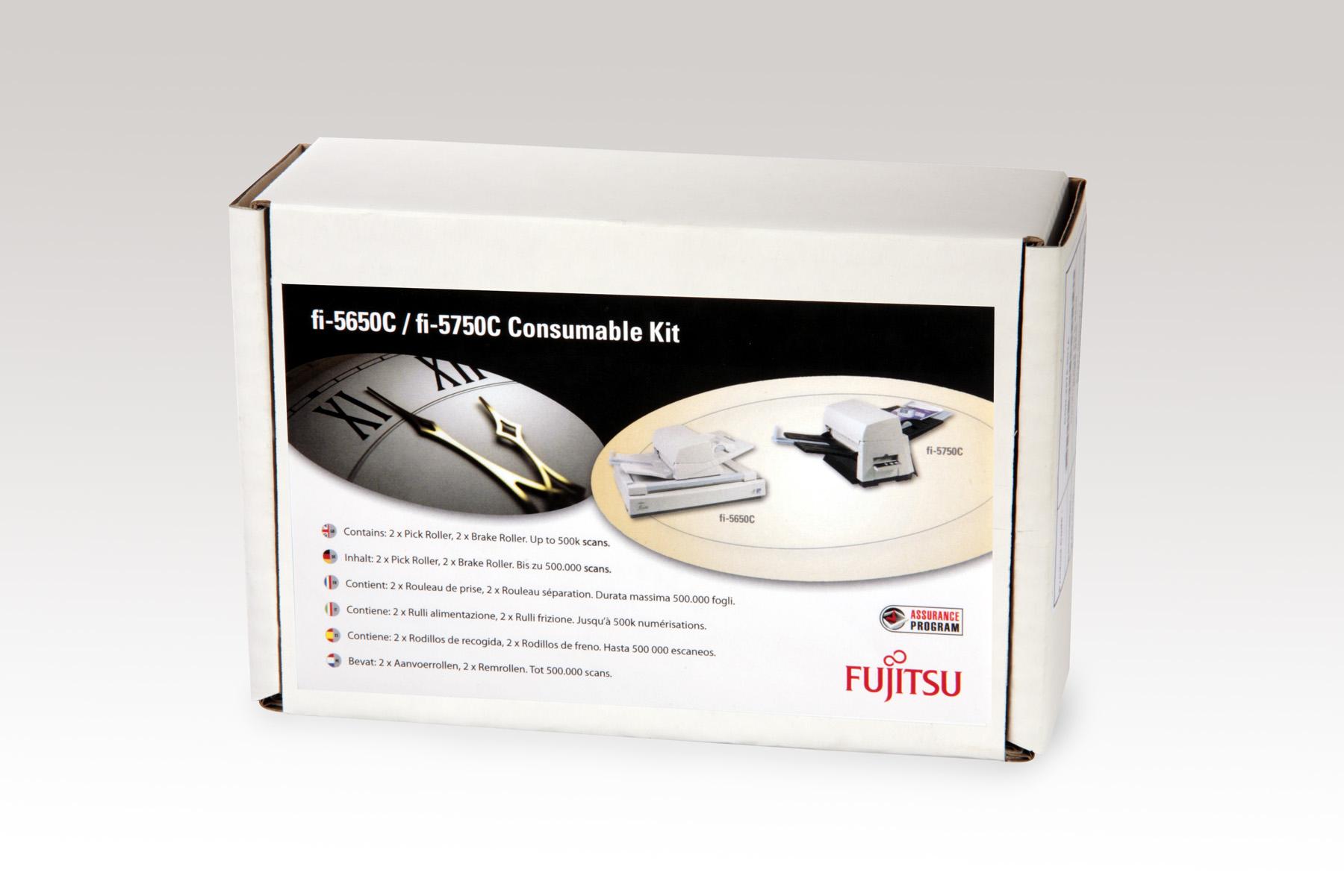 Fujitsu Cons kit FI-5650/5750/Pad Assy/Pick Roll