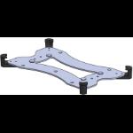 SpacePole SPOSVA1020-17 mounting kit