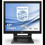 """Philips B Line 172B9T/00 LED display 43.2 cm (17"""") 1280 x 1024 pixels SXGA LCD Flat Matt Black"""
