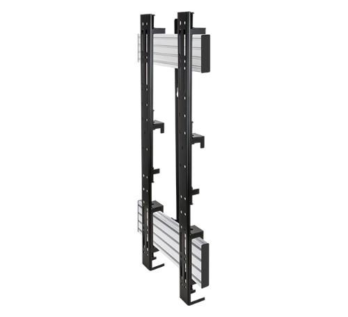 "B-Tech BT9906 86"" Black, Silver flat panel wall mount"