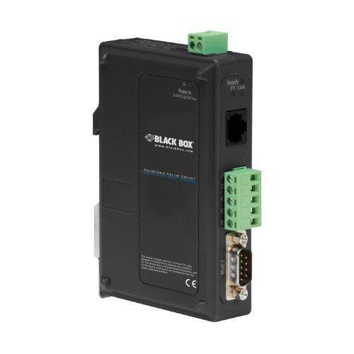 Black Box LES421A serial server RS-232, RS-422, RS-485