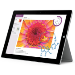 Microsoft Surface 3 64GB 3G 4G Silver tablet