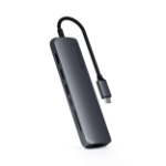 Satechi ST-UCSMA3M interface hub USB 3.2 Gen 1 (3.1 Gen 1) Type-C 5000 Mbit/s Grey