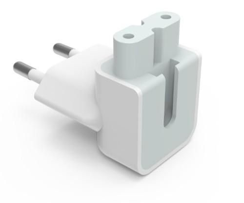 Vision TC-PF8AEU power plug adapter Type F C7 White