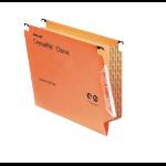 Rexel Crystalfile Classic '330' Lateral File 15mm Orange (50)