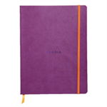 RHODIA rama Softcover Notebook Lined 190x250 Purple