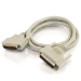 C2G 2m IEEE-1284 DB25 M/M Cable