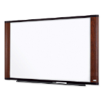 3M M9648MY White,Wood dry erase board