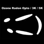 Corepad Skatez Replacement Mouse Feet for Ozone Radon Opto 3K / 5K (CS28310)