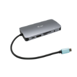 i-tec Metal USB-C Nano Dock HDMI/VGA with LAN + Power Delivery 100 W