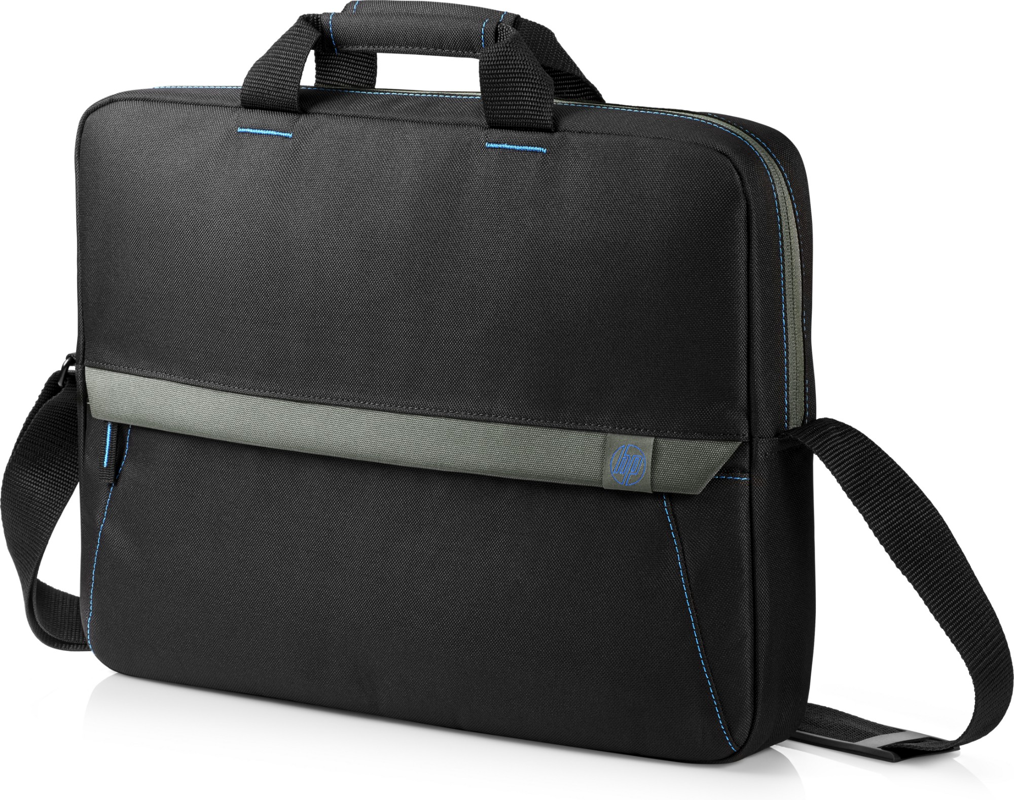 "HP Essential Top Load 39.6 cm (15.6"") Briefcase Black"