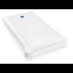 """RaidSonic IB-233U3-WH storage drive enclosure 2.5"""" HDD/SSD enclosure White"""