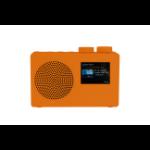 POP deluxe radio Portable Digital Orange