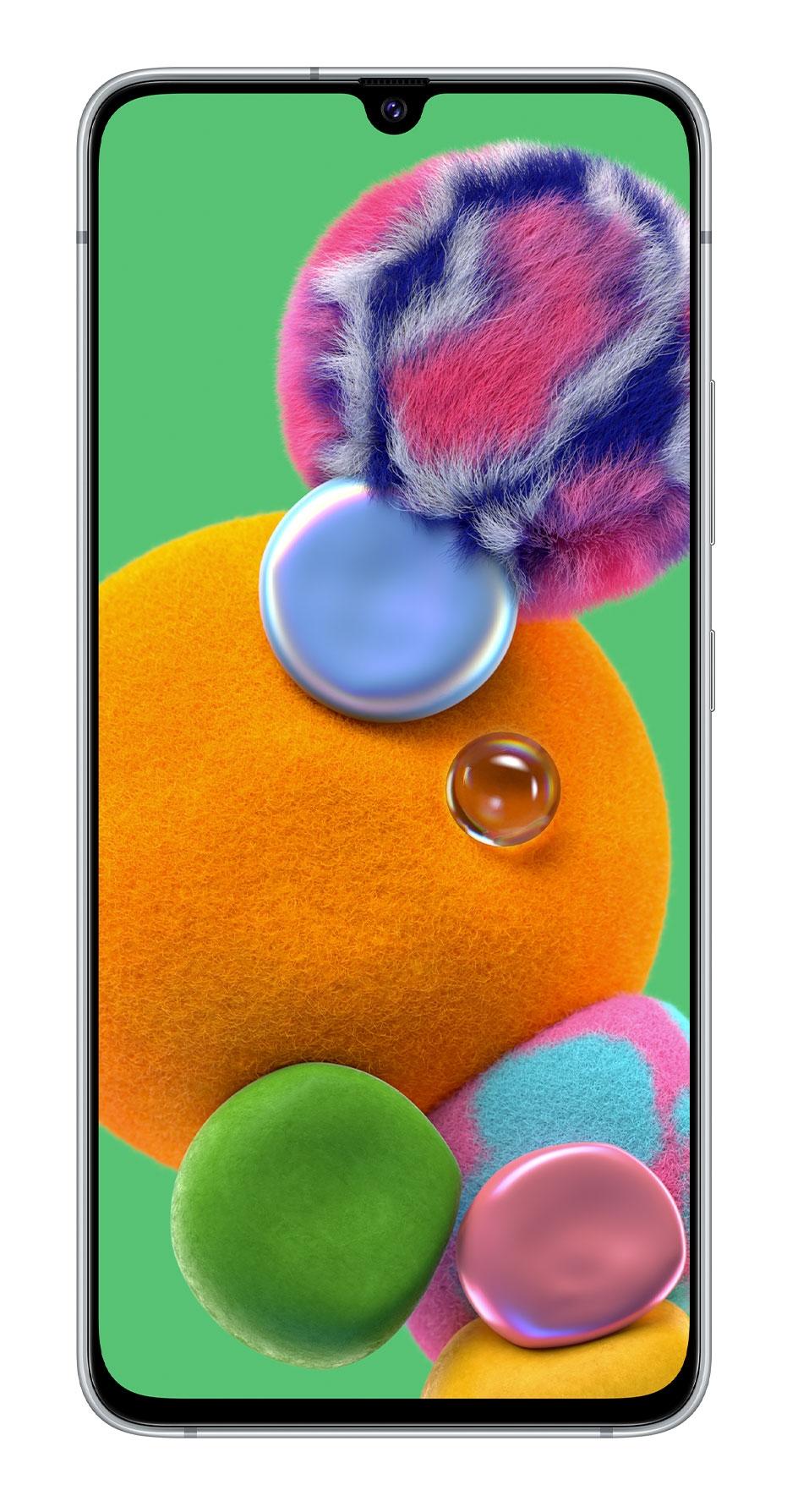 """Samsung Galaxy SM-A908B 17 cm (6.7"""") 6 GB 128 GB Single SIM White 4500 mAh"""