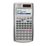 Casio FC200V calculator Pocket Financial Black