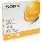 "Sony 5.25"" Magneto-Optical Disc of 5,233MB 5.25"" magneto optical disk"