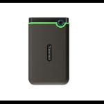 Transcend StoreJet 25M3 external hard drive 2000 GB Green,Grey