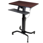 Ergotron WorkFit-PD freestanding table