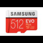 Samsung Evo Plus memory card 512 GB MicroSDXC Class 10 UHS-I