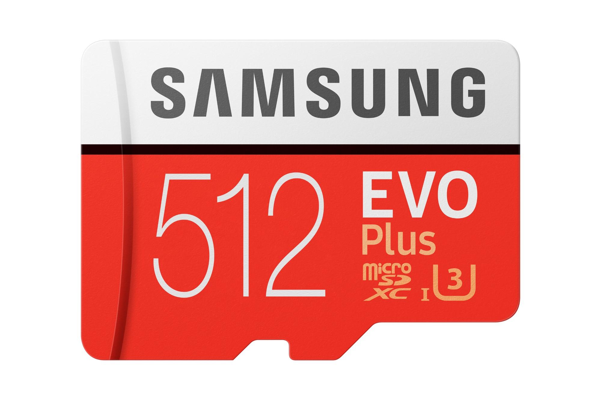 Samsung Evo Plus memoria flash 512 GB MicroSDXC Clase 10 UHS-I