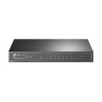 TP-LINK T1500G-8T network switch Managed L2/L3/L4 Gigabit Ethernet (10/100/1000) Black Power over Ethernet (PoE)