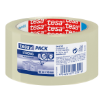 TESA Clear Strong 66 m Transparent Polypropylene 1 pc(s)