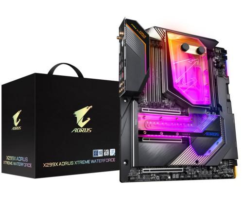 Gigabyte X299X Aorus Xtreme Waterforce motherboard LGA 2066 XL-ATX Intel X299 Express