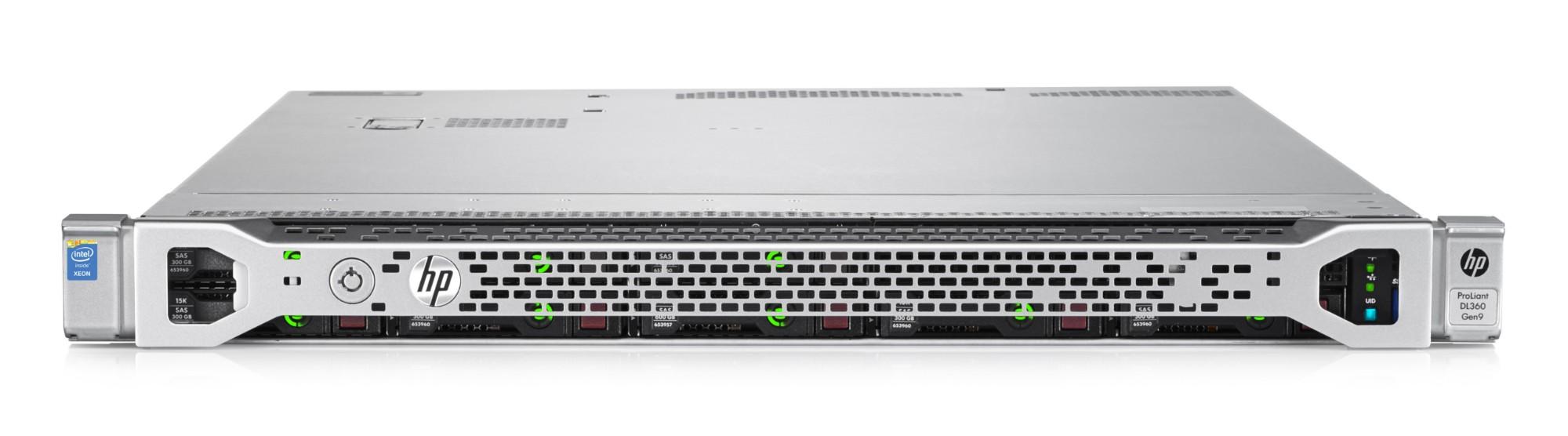 Hewlett Packard Enterprise ProLiant DL360 Gen9 2.4GHz E5-2630V3 500W Rack (1U) server