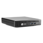 HP ProDesk 600 G2 DM 3.4GHz Intel Core i3-4130 with Intel HD Graphics 4400 (3.4 GHz, 3 MB cache, 2 cores) Microtower Black