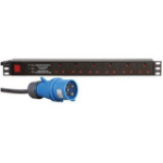 Dynamode PDU-6WS-H-SP-32CMDO power distribution unit (PDU) 1U Black 6 AC outlet(s)