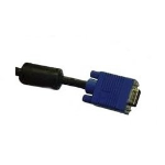 Sapphire VGA-HD05F VGA cable 5 m VGA (D-Sub) Black