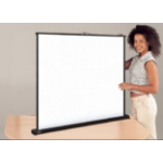 "Metroplan SS5500 50"" White projection screen"