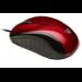 V7 Optical LED USB Mouse - red