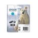 Epson Polar bear Cartucho 26XL cian
