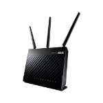 ASUS RT-AC68U router inalámbrico Doble banda (2,4 GHz / 5 GHz) Gigabit Ethernet Negro