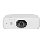 Panasonic PT-EW650 5800ANSI lumens LCD WXGA (1280x800) Desktop projector White PT-EW650LEJ