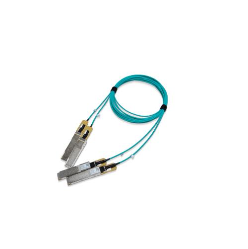 Mellanox Technologies MFS1S90-H015E cable de fibra optica 15 m LSZH 2x QSFP56 Azul