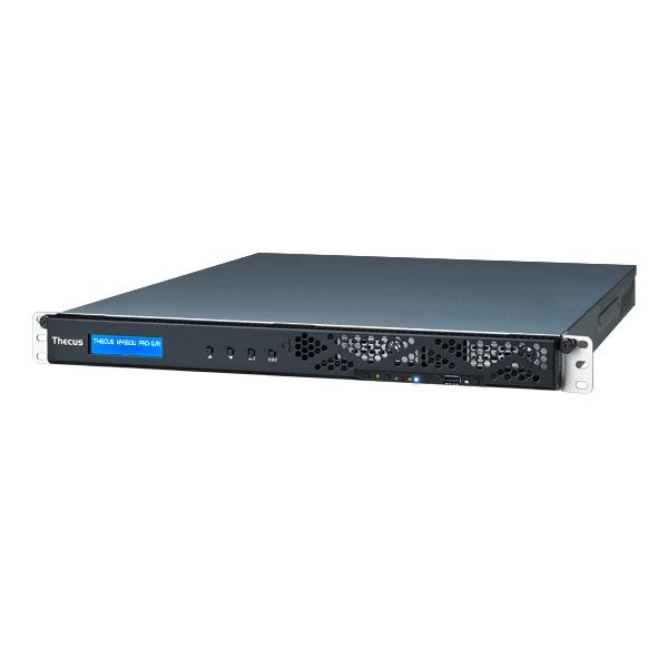 Thecus N4910U PRO-S NAS Rack (1U) Ethernet LAN Black storage server